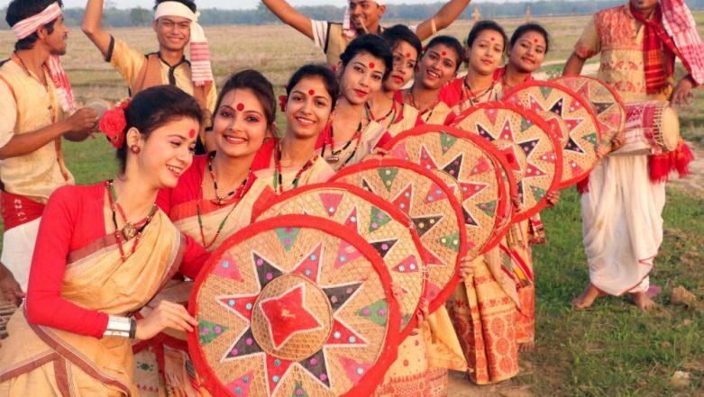 Bohag Bihu 2018 Wishes & Celebrations: Nation Celebrates And Share Greetings on Assamese New Year