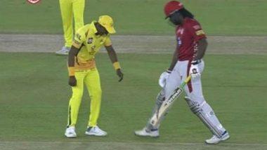 IPL 2018: Dwayne Bravo Ties Chris Gayle's Shoelaces, Watch Video
