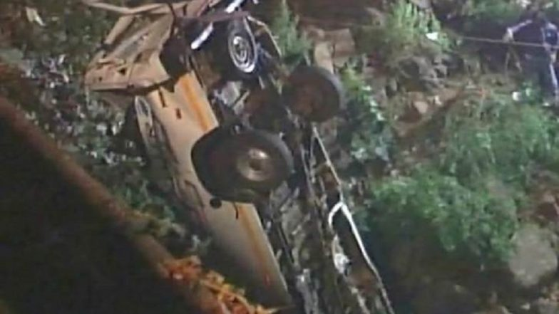 Himachal Pradesh 20 School Children Dead as Bus Falls Into Gorge in Kangra