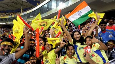 CSK vs KKR, IPL 2018: Three Detained For Hurling Shoes During Match at Chennai Stadium
