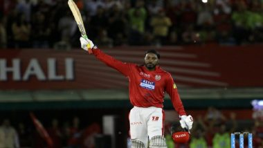 IPL 2018: Chris Gayle Scores First Hundred of the 11th Season Playing for Kings XI Punjab