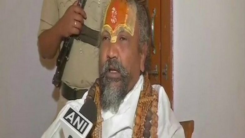 Computer Baba Performs Fire Worship On Roof Of