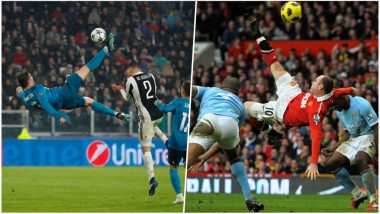 Cristiano Ronaldo Bicycle Kick in Real Madrid vs Juventus Tie is One of The Best Five Bicycle-Kick Goals in Football History (Watch Videos)