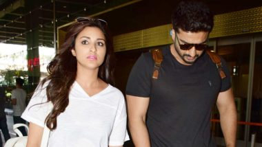 Parineeti Chopra And Arjun Kapoor Return To Bombay After Wrapping Up First Schedule Of Namastey England
