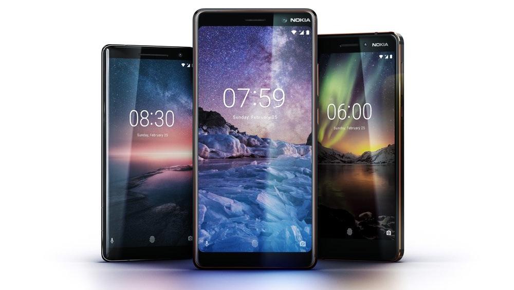 Nokia 8 Sirocco, New Nokia 6, Nokia 7 Plus