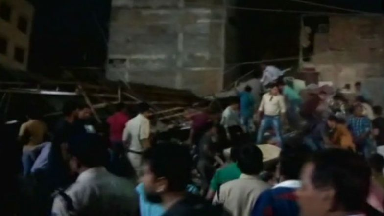 Indore Building Collapse Four Dead Three Critical After Hotel Collapses in Sarwate Area