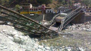 Uttarakhand: Bridge Built Over Assi Ganga River on Gangotri Highway Collapses Twice in Three Months: See Pic