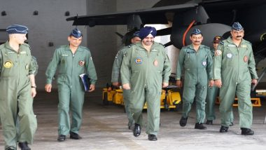 Air Chief Marshal BS Dhanoa Reviews Operational Strength of Indian Air Force During 'Gagan Shakti 2018'