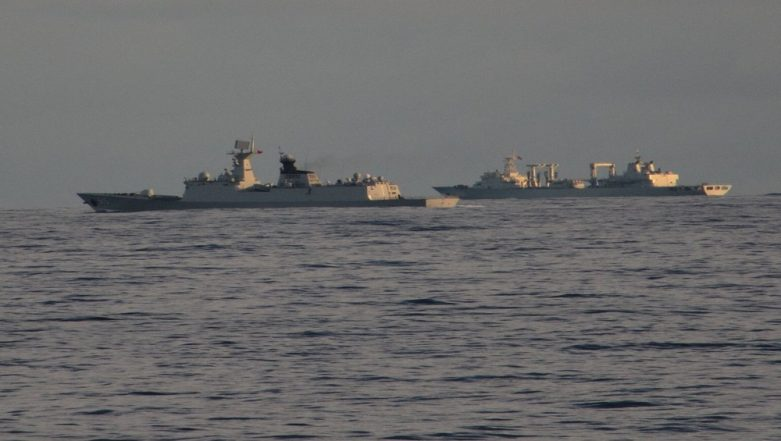 Indian Navy Trolls China; Conveys Strong Message Through Tweets