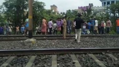 Explosion on Kolkata's Dum Dum Cantonment Railway Line; Photos From The Spot