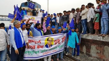 Bharat Bandh to Protest SC/ST Act Dilution: Trains Disrupted in Odisha's Sambalpur as Dalit Groups Agitate