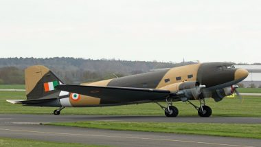 Dakota DC-3: World War II Aircraft Reaches India To Re-Join Indian Air Force