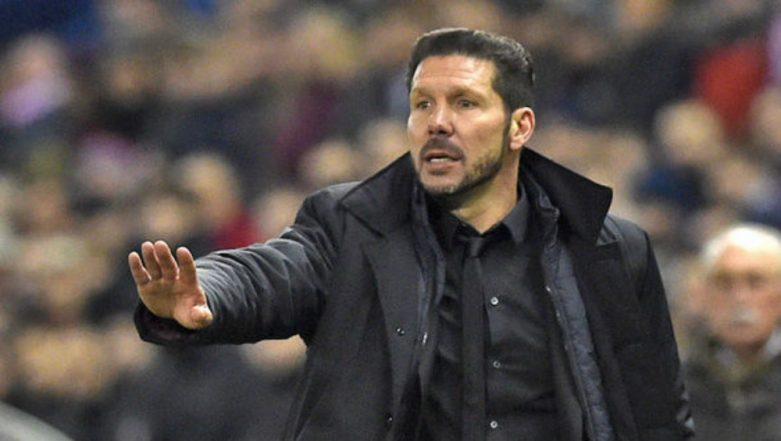 Atletico Madrid's Coach Diego Simeone Fined 20,000 Euro Over His Celebration During the 2-0 Victory Over Juventus