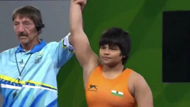 Divya Kakran Wins Bronze Medal in Women's Freestyle 68kg Wrestling Event for India in CWG 2018