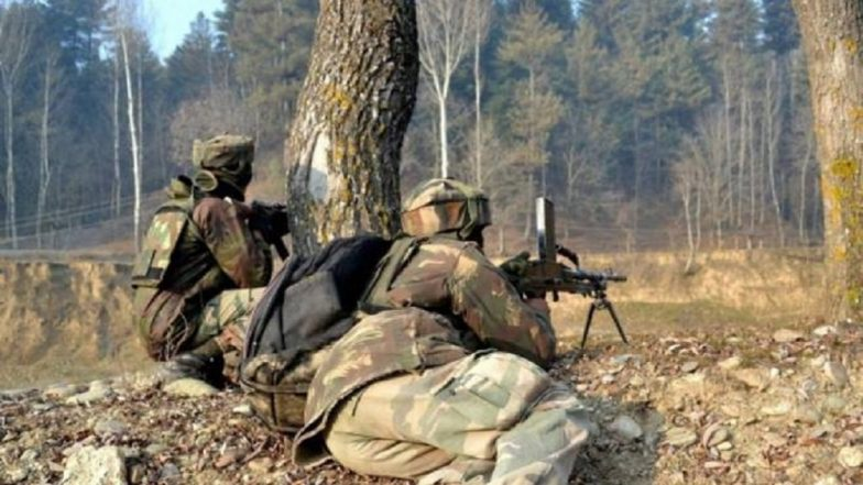 Encounter Underway Between Security Forces and Terrorists in Jammu & Kashmir's Kupwara, One Personnel Martyred, Another Injured