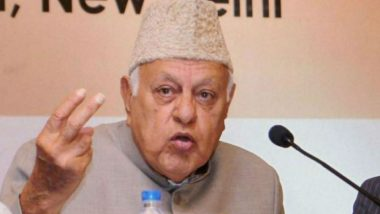 Farooq Abdullah Detained at His House in Srinagar, His Daughter Safiya in Judicial Custody, Says Jammu and Kashmir Police
