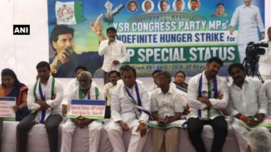 Andhra Pradesh Special Status Row: YSRCP MP's Go On Indefinite Hunger Strike, Submit Resignations