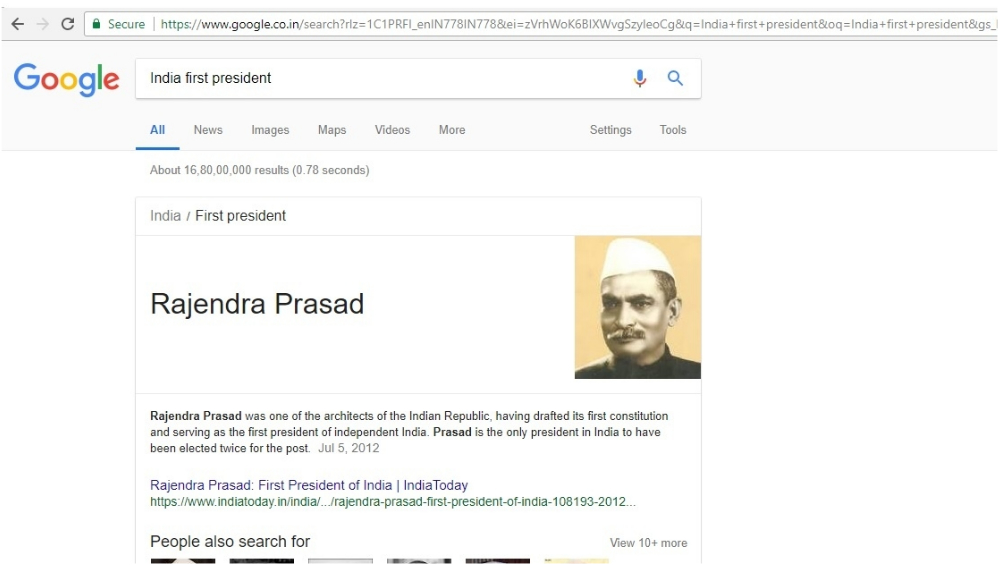 Google fixes glitch showing Narendra Modi 's photo as India's first PM