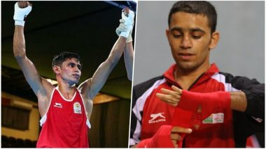 Gaurav Solanki Wins Gold, Amit Panghal Claims Silver Medal in Men's Boxing Events for India at CWG 2018