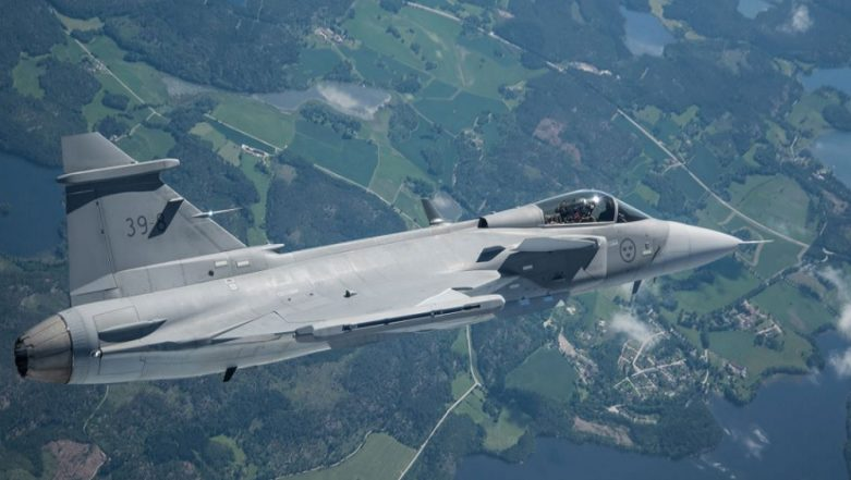 DefExpo 2018: Swedish Company Saab Pitches For Gripen-E to Indian Air Force