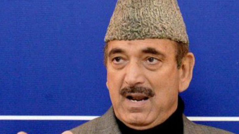 Narendra Modi, Amit Shah Should Apologise to People of Jammu-Kashmir, Says Ghulam Nabi Azad