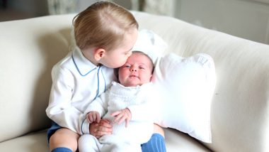 Heart-Warming Pictures of Royal Siblings Prince George and Prince Charlotte That Will Make Your Heart Explode!