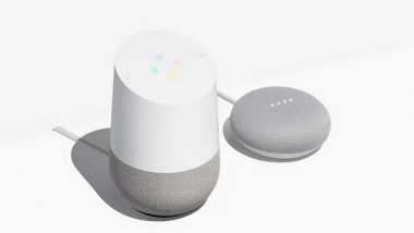 Google Home and Home Mini Smart Speakers Launched in India; Price Starts from Rs. 4,999