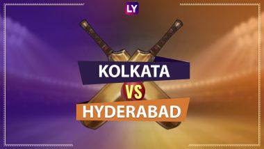 KKR 97/3 in 13 Overs (Target 143)   KKR vs SRH Live Score Updates IPL 2020: Shubman Gill Scores Fifty