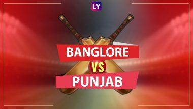 RCB vs KXIP LIVE IPL 2018 Streaming: Get Live Cricket Score, Watch Free Telecast of Royal Challengers Bangalore vs Kings XI Punjab on TV & Online