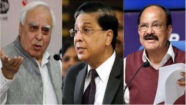 Congress Moves Supreme Court After V-P Venkaiah Naidu Rejects Impeachment Motion Against CJI Dipak Misra