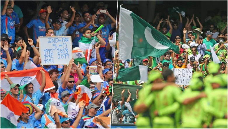 India vs Pakistan, ICC Cricket World Cup 2019 Match Date & Schedule: Overall Meetings and Results of Arch-Rivals in Cricket's Biggest Tournament