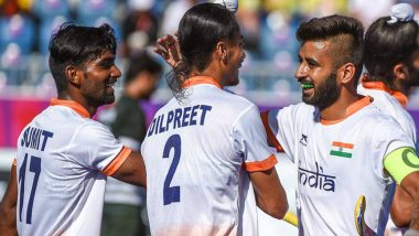 CWG 2018 Men's Hockey: Harmanpreet Singh's Brace Guides India to 2-1 Win Against Malaysia, Takes Team into CWG Hockey Semifinals