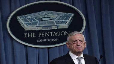 Trump Announces Interim Defence Secretary As He Brings Forward Jim Mattis' Departure