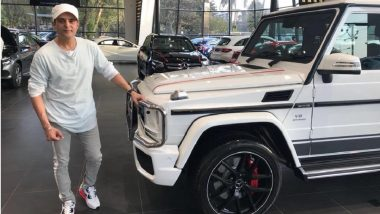 Actor Jimmy Shergill Drives Home a Brand New Mercedes-Benz G-Class SUV
