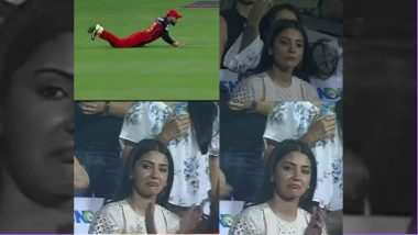 IPL 2018 Video Diaries: Wife Anushka Sharma's Reaction to Virat Kohli's Stunning Catch is Priceless!