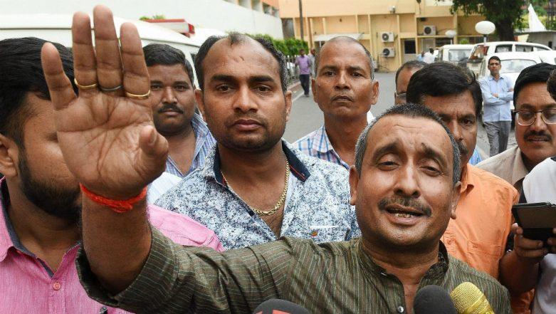 Unnao Rape Case: BJP MLA Kuldeep Singh Sengar Taken to Court by CBI After Medical Check-Up Along with Victim