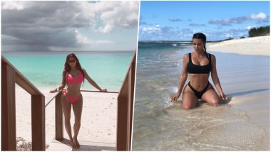 Kim Kardashian West Paddleboarding At the Island of Turks and Caicos, Twitterati Recalls An Iconic Episode After Watching the Video
