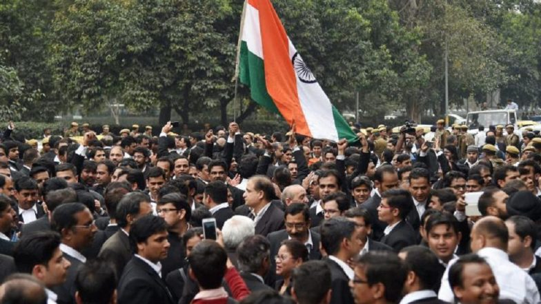 Delhi Lawyers on Strike Tomorrow: All District Courts Bar Associations to Suspend Work In Protest Against Attack on Brethren