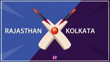 RR vs KKR LIVE IPL 2018 Streaming: Get Live Cricket Score, Watch Free Telecast of Rajasthan Royals vs Kolkata Knight Riders on TV & Online