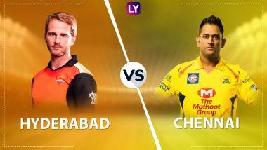 SRH vs CSK Highlights: Sunrisers Hyderabad LOSE by 4 Runs