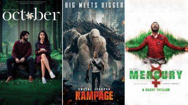 Varun Dhawan's October, Dwayne Johnson's Rampage or Prabhu Deva's Mercury - Which of These Movies is Your Weekend Pick?