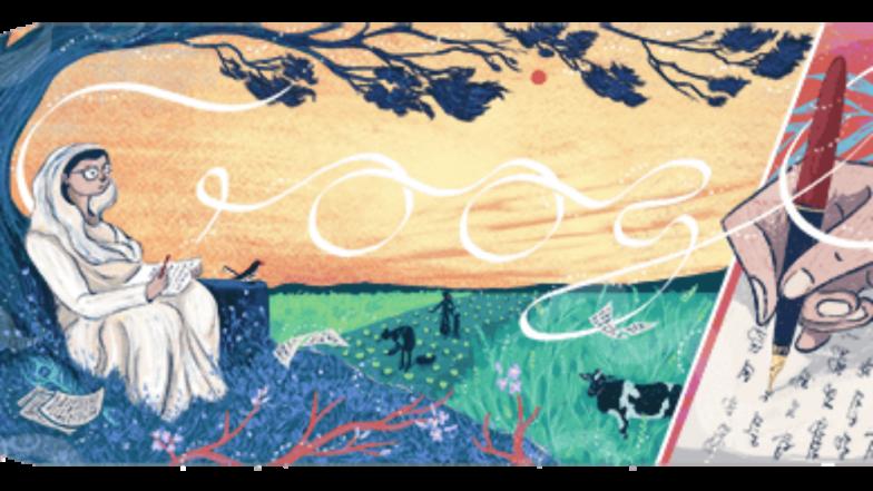 Google Doodle commemorates Mahadevi Varma, leading poet of Chhayavaad movement