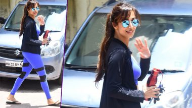 Malaika Arora Khan's Straight Out Of The Gym Hot Pics Will Make You Sweat!