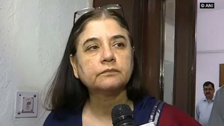 Child Separated from Jailed Mother Must Be Made to Visit Her Regularly: Maneka Gandhi