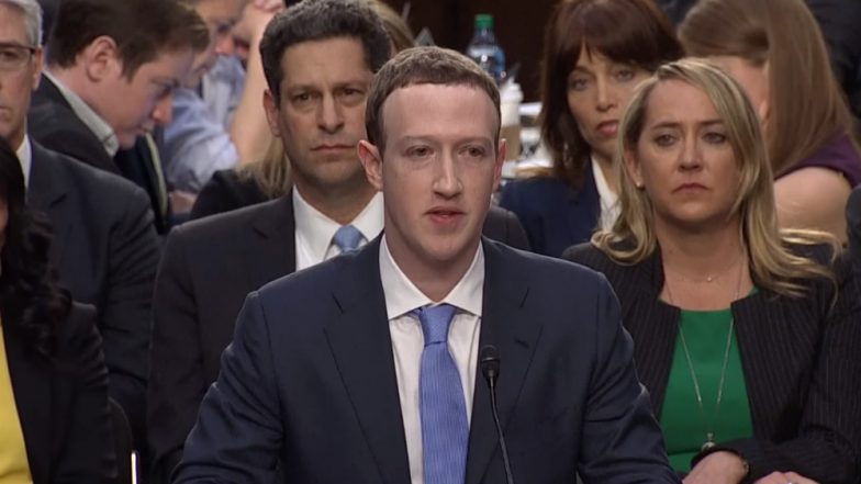 Mark Zuckerberg Grilled in Data-Breach Scandal: Watch Nervy Facebook CEO Giving Testimony Before US House of Representatives in These Videos