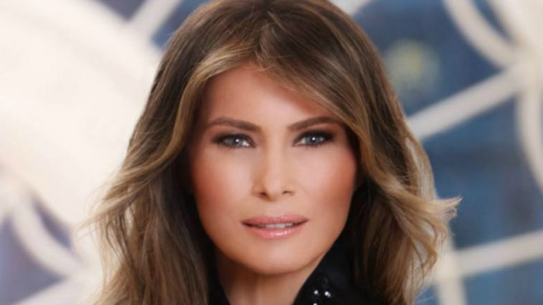 Melania Trump Attends First Official White House Event in 24 Days