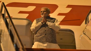 Narendra Modi Arrives in Wuhan for Talk with Xi Jinping