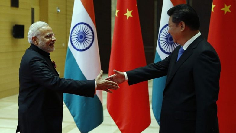 Bishkek: PM Narendra Modi Meets China's Xi Jinping on SCO Summit Sidelines, Targets Pakistan Over Cross-Border Terrorism