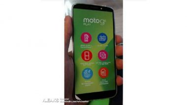 Moto G6 Play Image & Specifications Leaked Ahead of Launch; Reveals 18:9 Display, Dual Camera & More