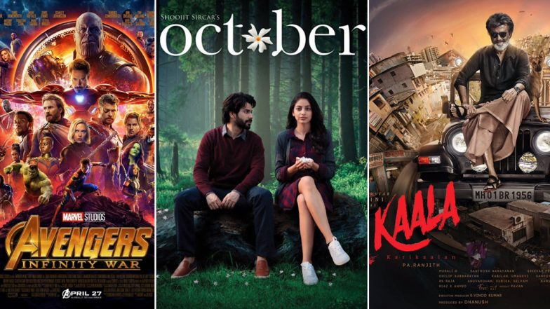 Marvel's Avengers Infinity War, Varun Dhawan's October, Rajinikanth's Kaala - 11 Movies to Watch Out for in April
